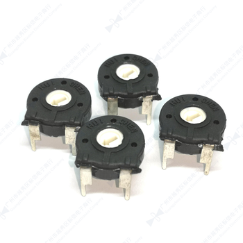 5PCS PT15 Spain trimmer potentiometer, rotary handle, adjusting lever, Hexagonal Holeresistance hand 103A 501A 201A 503A B504 image