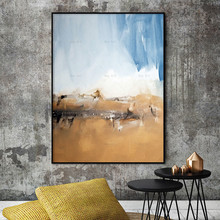 Abstract poster Landscpe canvas painting wall art pictures print seascape Home decor picture for living room nordic canvas painting abstract living room golden art wall pictures print bedroom dinning room home decor unframed poster art