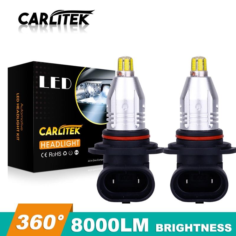 2X 360 градусов H8 H11 H16 светодиодный ные лампы HB4 9006 светодиодный противотумансветильник ры 8000lm 12V Автомобильная противотуманная фара 6000k белый ...
