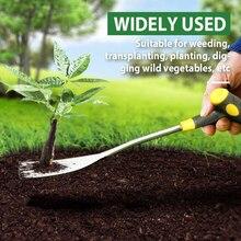 Garden Weeding And Transplant Tool Garden Weeder Hand Weeding Removal Cutter Dandelion Puller Tools Weeder Transplant