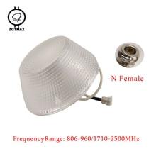 ZQTMAX всенаправленная потолочная антенна для GSM WCDMA CDMA DCS шт 2g 3g 4g усилитель сигнала повторитель N женский