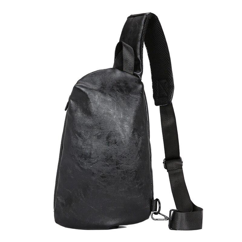 2019 New Chest Bag Men's Bag Multifunctional Messenger Bag Men's Shoulder Student Leisure Sports Fashion Brand