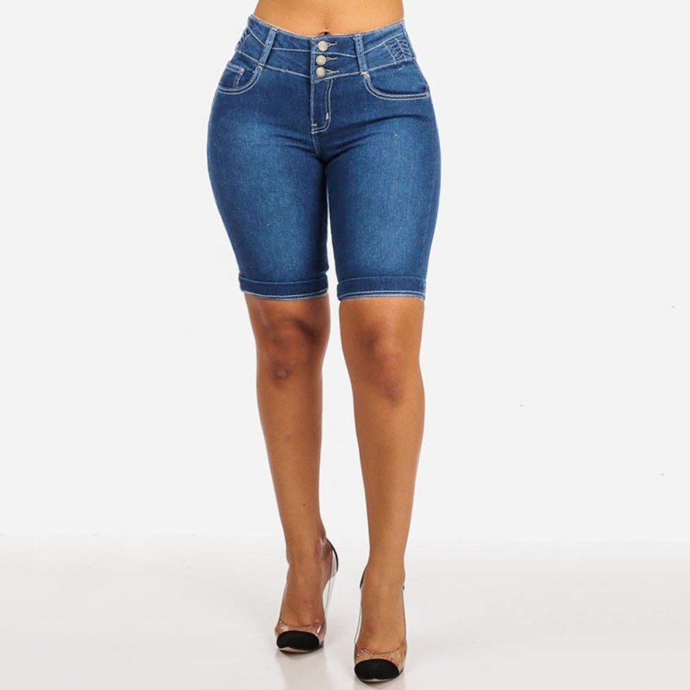 alexa echo deals Plus Size Fashion Women Denim Shorts Pants Summer Skinny Sliming levis 501 mom jeans and Fit Short Jeans Streetwear Hot Short Pants for women shorts sale things online Jeans for women cf52544267
