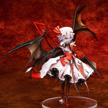 22cm TouHou Project Scarlet Devil ACGN Action Figure The Embodiment of Scarlet Devil Remilia Scarlet PVC Collectible Model Toys фото