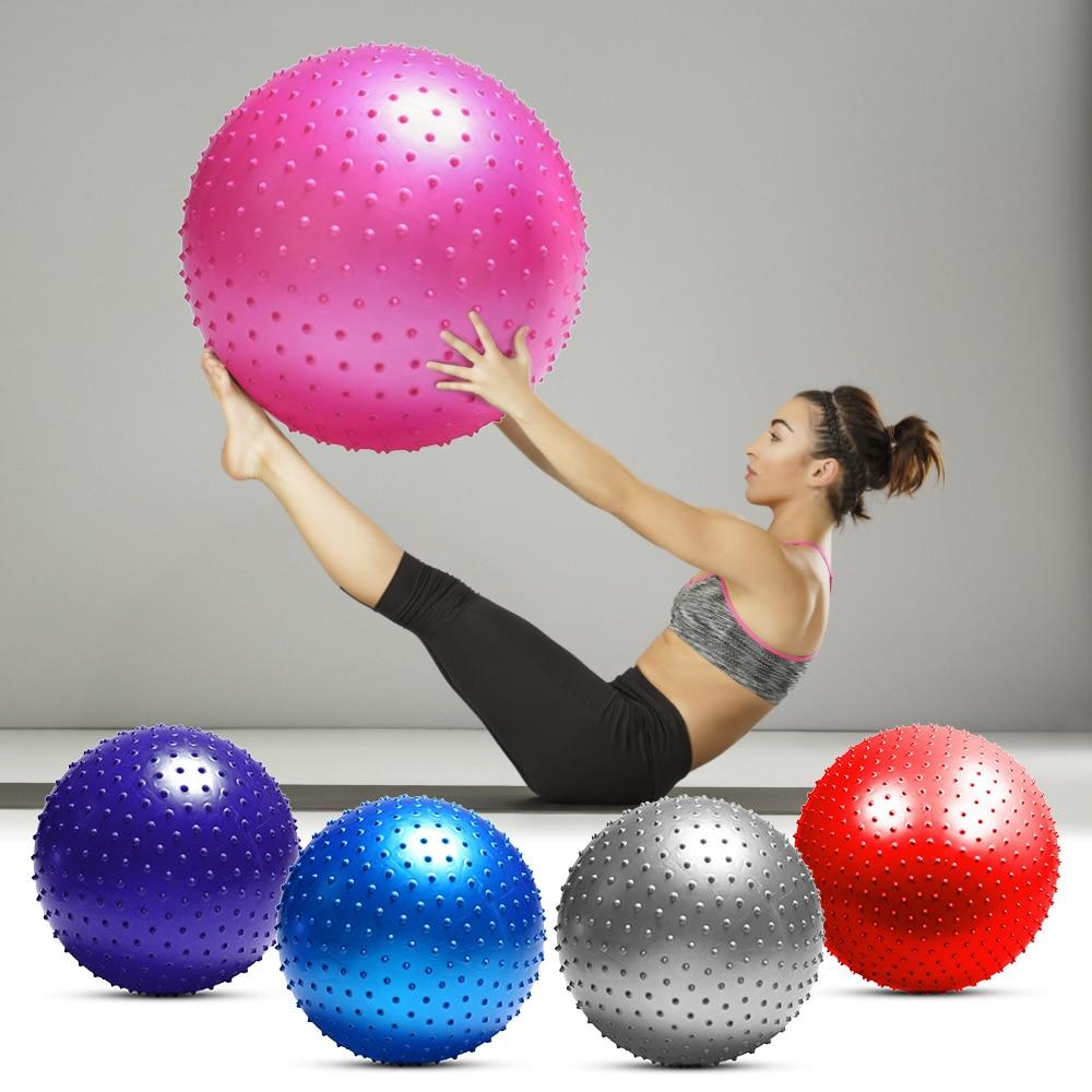 Image 5 - 55CM / 65CM / 75CM Anti burst Yoga Ball Thickened Stability Balance Ball Pilates Physical Fitness Exercise Ball Gift Air PumpYoga Balls   -