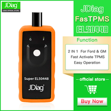 JDiag Super EL-50448 TPMS Reset Activation Tool Compatible for  G-M Vehicles and F-ord Vehicles Tire pressure reset tool autel maxitpms ts401 tpms diagnostic and service tool pre selection process offer faster activation and diagnostics