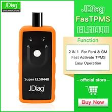 JDiag Super EL-50448 TPMS Reset Activation Tool Compatible for  G-M Vehicles and F-ord Tire pressure reset tool