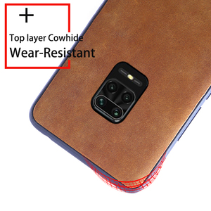 Image 5 - Leather Phone Case For Xiaomi Redmi Note 9S 8 7 K30 Mi 10 Ultra 9 Lite 9T A3 Mix 2s Max 3 Poco F1 F2 Pro X2 X3 Crazy Horse Cover