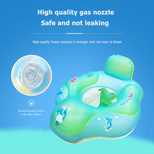 Baby Swimming Rings Bebe Float Buoy Bouee Inflatable Smart Waist Trainer Anti-Rollover Pool Accessories Tube Toddler Flotador(China)