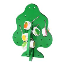 Children's Educational Toys Wooden Educational Toy Fruit Tree Toy Wisdom Tree Toy Wooden Beaded Toys wooden baby puzzle toy magnetic fruit tree