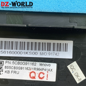 Image 3 - Lenovo edge 15 flex 2 pro 15 노트북 c 커버 용 체코 어 백라이트 키보드가있는 새/orig 손목 받침대 대문자 5cb0g91162