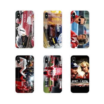 Cell Phone Bag Case James Hunt Niki Lauda Competing For Huawei G7 G8 P8 P9 P10 P20 P30 Lite Mini Pro P Smart Plus 2017 2018 2019 image