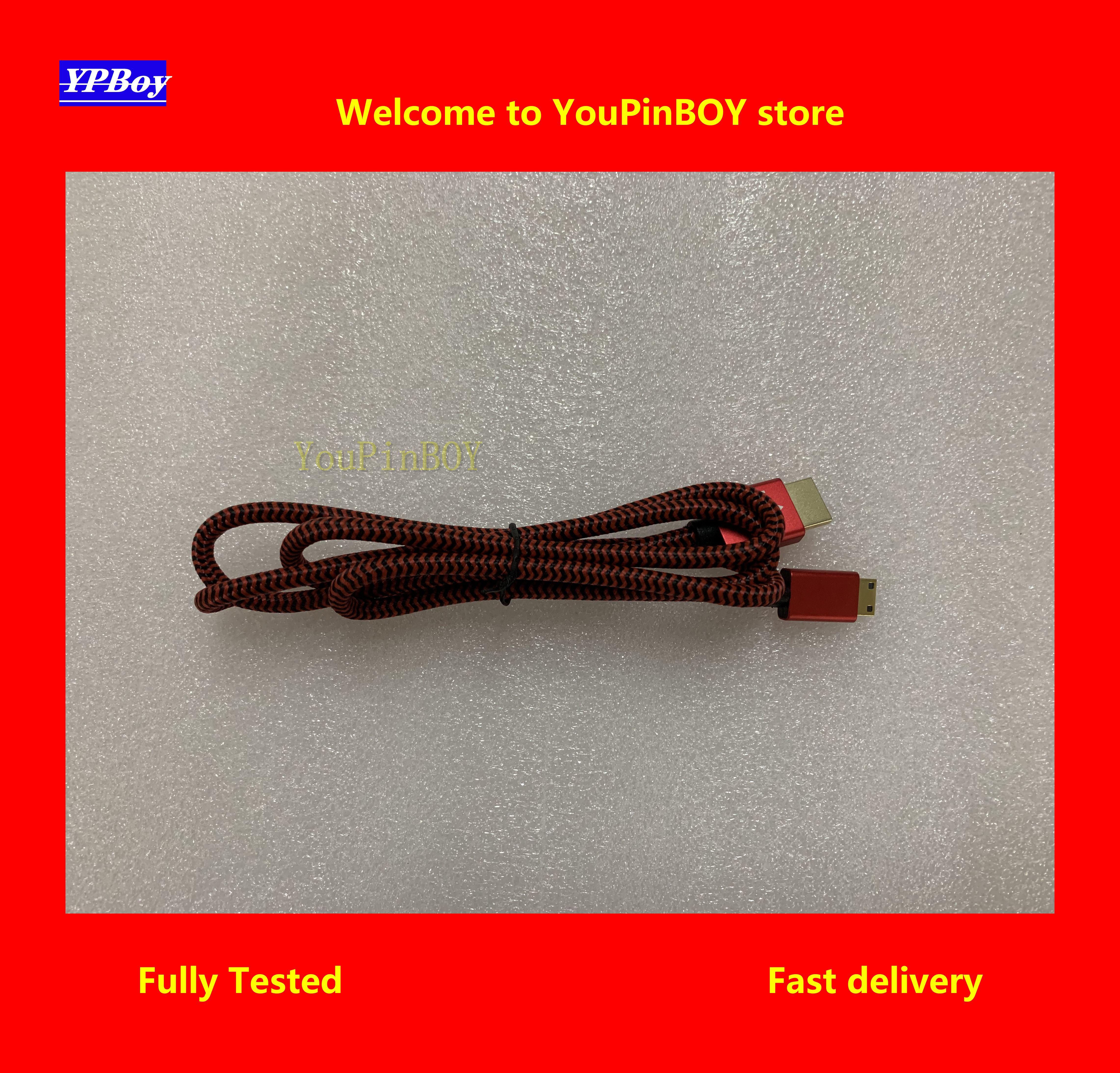 Youpinboy mini hdmi cabo de alta velocidade 1080 p 3d banhado a ouro cabo hdmi linha para hdtv xbox ps3 computador 1.2 m longo
