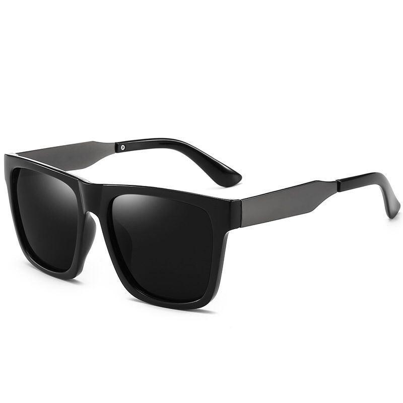 Мужские солнцезащитные очки с металлической оправой, классические поляризационные солнцезащитные очки для вождения на улице, UV400, 2020