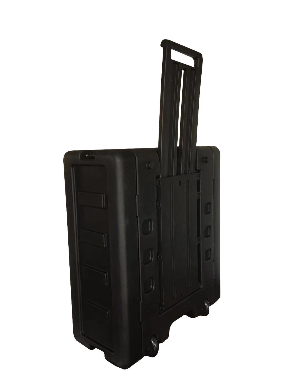 New Arrive! Hot Sale! Tricases Factory IP65 Waterproof Shockproof Dustproof Rotational Molded 4U Simple Rack Cases