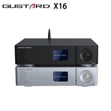 Nowa aktualizacja GUSTARD DAC X16 dekoder MQA balans pełne dekodowanie podwójny ES9068 Bluetooth 5.0 DSD512 XU216 USB IIS DAC