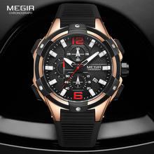 Megir модные спортивные часы для мужчин 2020 Роскошный топ бренд