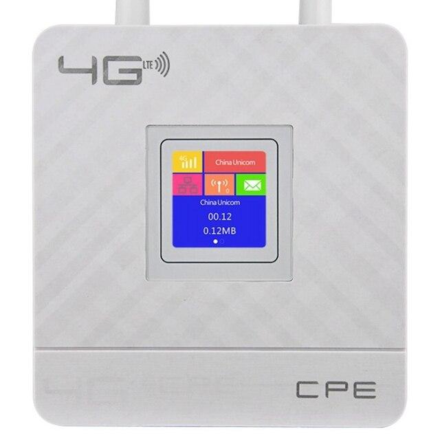Cpe903 3G 4G przenośny Hotspot Router wi-fi Lte Wan/Lan Port podwójny anteny zewnętrzne odblokowany Wireless Cpe Router na kartę Sim tylko