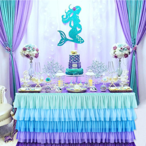 The little Mermaid Birthday Party Decoration Mermaid Balloons For Mermaid Party 1st Happy Birthday Decor Baby Shower Girl Decor