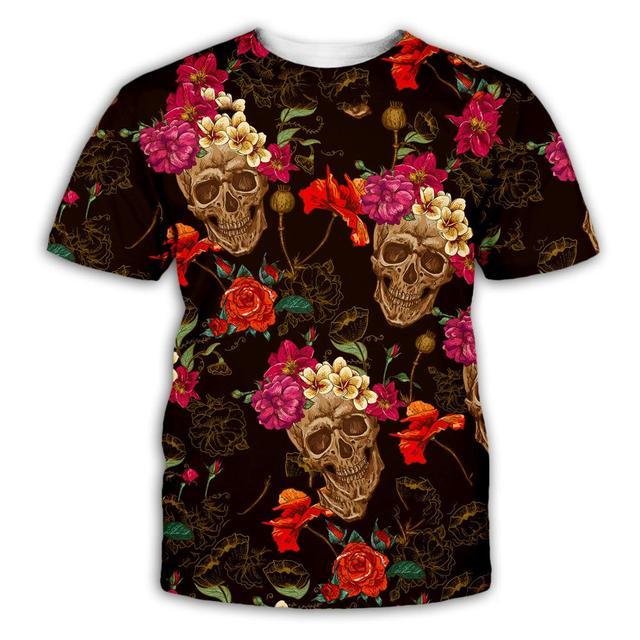 Купить plstar космос череп покер забавные футболки для мужчин популярный картинки цена
