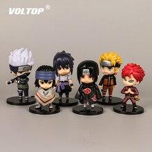 Acessórios Do Carro dos desenhos animados Naruto Sasuke Ornamentos Interior Do Carro Pingente Decoração Painel Brinquedos Boneca Kakashi