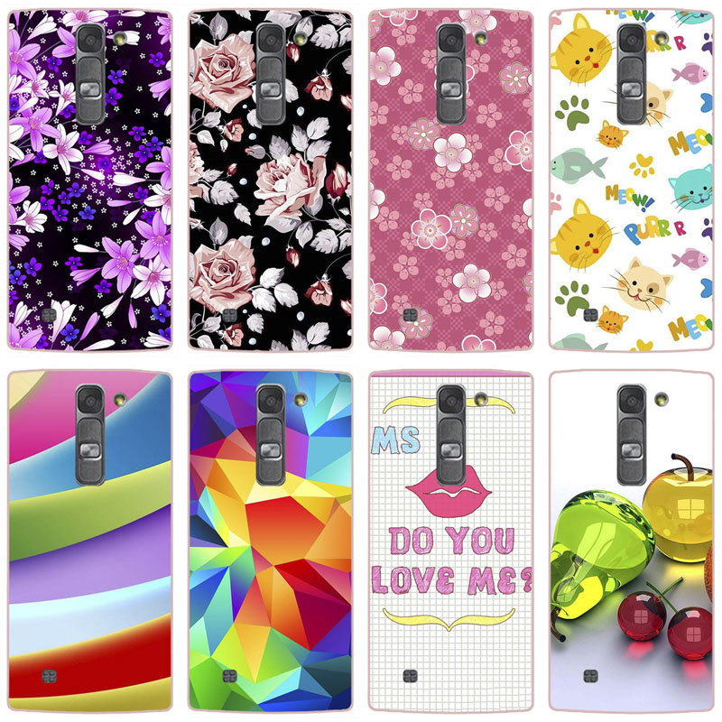 Phone Case for LG Magna G4c H522Y H502f H500F G4 Note Flower Crown Tower Pattern Soft TPU Silicone Cover For LG G4 Mini Case