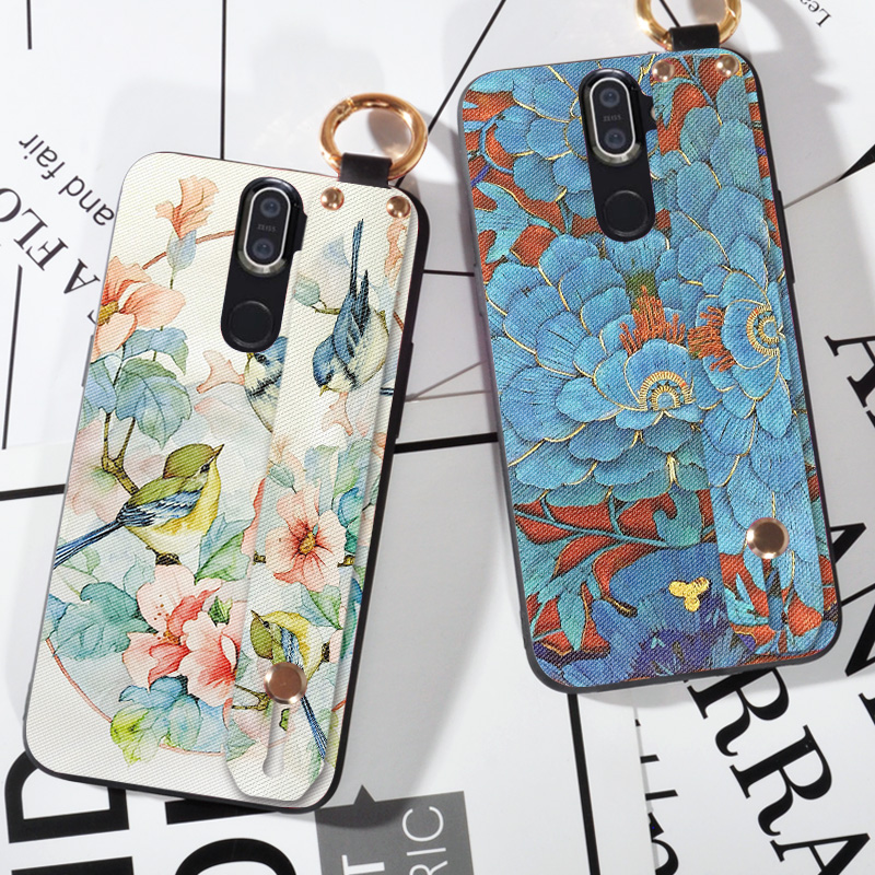 3D Emboss Floral Birds Case For <font><b>Nokia</b></font> 5 6 7 8 9 PureView X5 X6 X7 5.1 <font><b>6.1</b></font> 8.1 <font><b>Plus</b></font> <font><b>Silicone</b></font> Coque Shell <font><b>Back</b></font> <font><b>Cover</b></font> image