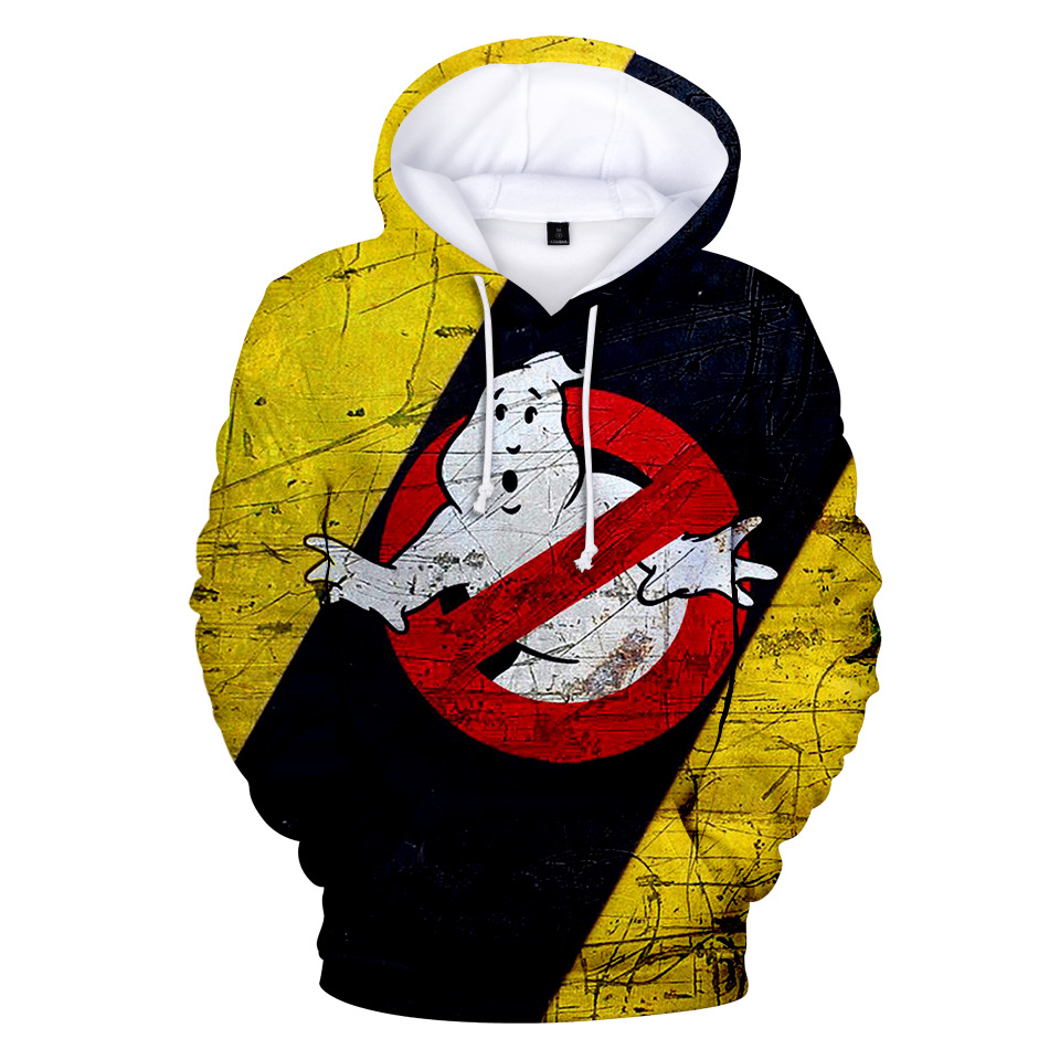 New Fashion 3D Hoodie Ghostbusters Men/Women Popular Casual Harajuku Style Anime Hoodie Ghost Busters 3D Hoodies Sweatshirts