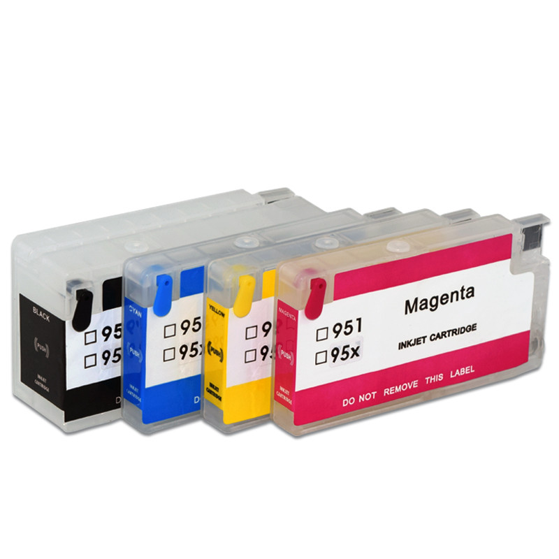 5Sets HP953 Refillable Ink Cartridge with ARC Chip For <font><b>HP</b></font> OfficeJet Pro 7720 7730 7740 8210 8710 8715 8718 8720 8725 Printer image