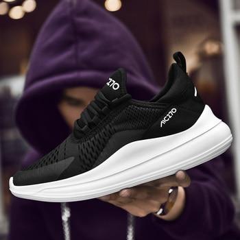 QUAOAR Shoes Men Sneakers Flat Male Casual Shoes Comfortable Running Men Footwear Breathable Mesh Sports Tzapatos De Hombre 25