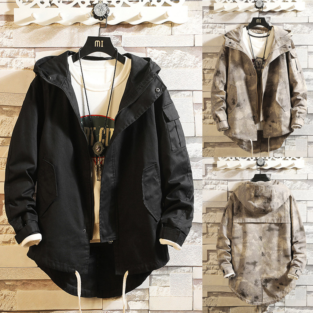 Hbe61897bedd0424cad66b08990ecf6123 - Casual Tops Plus Size  Fashion Fashion Men's Autumn Winter Solid Casual Long Sleeve Jacket Coat  wo man