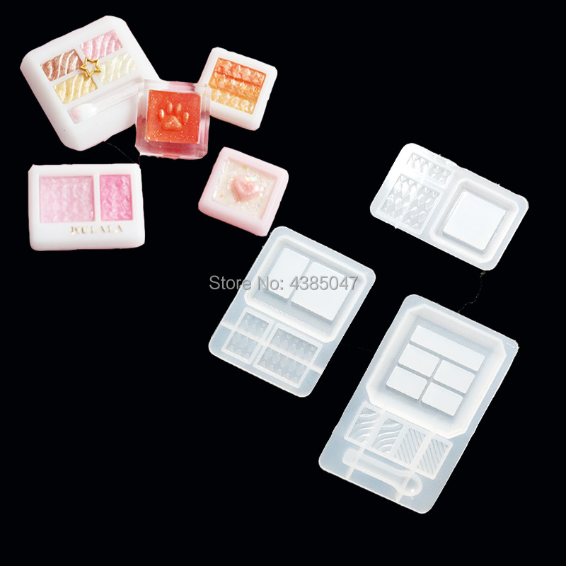 Transparent Silicone Mould Dried Flower Resin Decorative Craft DIY Makeup Tools Mold Epoxy Resin Molds For Jewelry