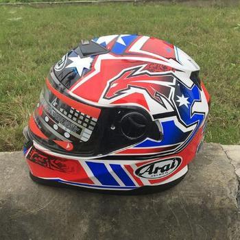 2019 New Full Face Helmet Run Double Lens Helmet Motorcycle Helmet Stunning Color Skull Free Shipping