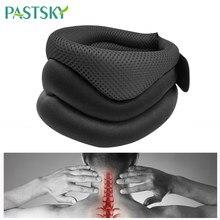 Zervikale Traktion Kragen Neck Schützen Gürtel Hals Massage Gerät Unterstützung Brace Posture Corrector Kopf Zurück Schulter Schmerzen Relief