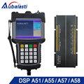 5inch Multi-color CNC Router Controller DSP A51 A57 A58 CNC Router DSP 3-axis 4-axis Linkage Support ATC Cylinder