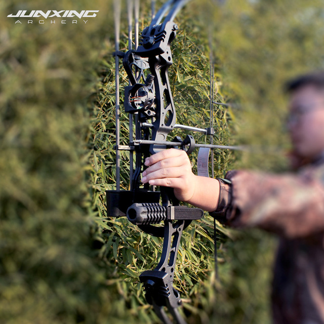 """1Pc 35-55 Lbs Archery Compound Bow Compound Bow 19-30"""" Draw Length 310fps IBO LIMBS For Hunting Shooting Camping Equipment 3"""