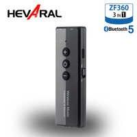 HEVARAL ZF-360 Audio Empfänger 5,0 Drahtlose Bluetooth Adapter USB-Sender Empfänger Für Auto PC TV Stereo Stabile Sound Mit 3,5