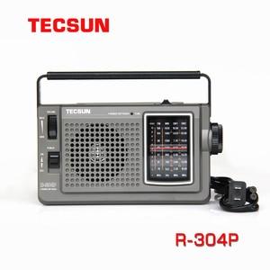 Image 1 - TECSUN R 304 R 304P High Sensitivity FM Radio MW/SW Radio Receiver With Built In Speaker