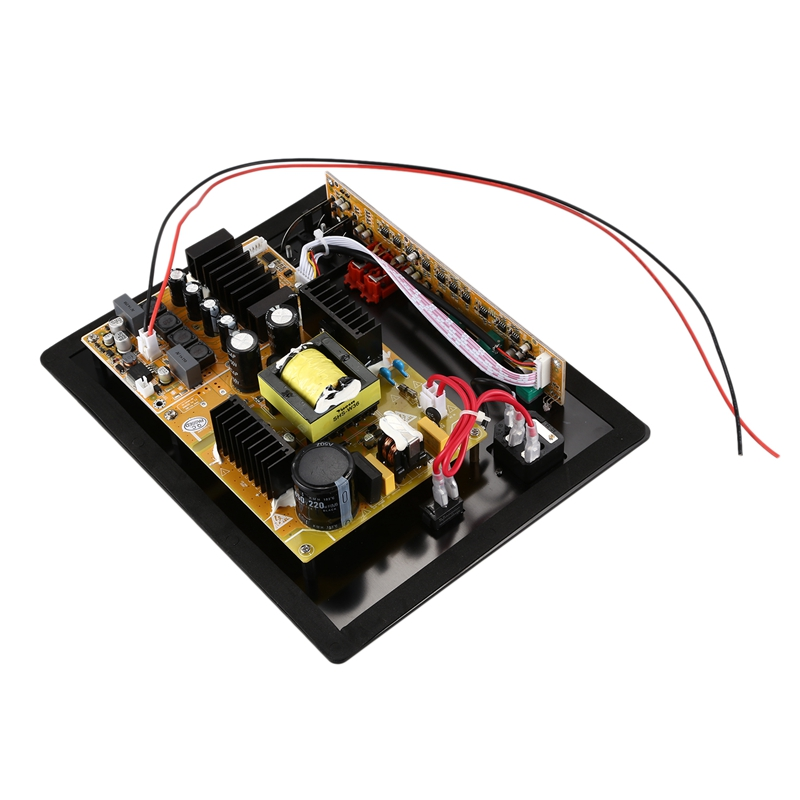 New Assembled High-Power 280W Digital HIFI Subwoofer Amplifier Board Black+yellow