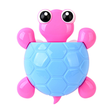 купить Hot 1pc Cartoon Turtle Toothbrush Holder Tortoise Shaped Toothpaste Holder with Suction Cup for Bathroom L99 дешево