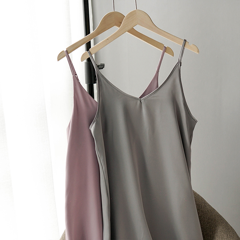 Toppies 2020 Spring Summer Women Satin Dress party Luxury Shiny Sundress Imitation Silk Dress