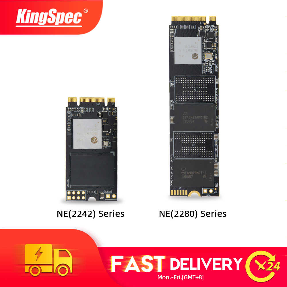 KingSpec M.2 ssd 256GB M2 2280 NVMe pcie M2 2242 SSD 512GB 1TB nvme Solid State Drive interne hdd für Laptop desktop-Gaming-PC