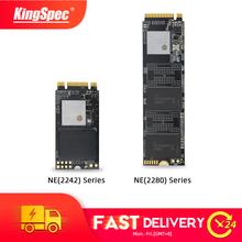 KingSpec M 2 ssd 256GB M2 2280 NVMe pcie M2 2242 SSD 512GB 1TB nvme dysk półprzewodnikowy wewnętrzny dysk twardy do laptopa komputer do gier stacjonarnych tanie tanio M 2 2242 M 2 2280 CN (pochodzenie) CS1802 SM2263XT 2400 1700 MB s Pci-e Desktop Server NE 2242 2280 1 million hours Supported