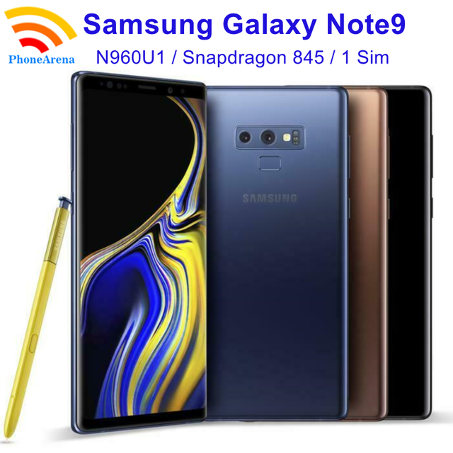 "Samsung Galaxy Note9 Note 9 N960U1【98% New】 6.4"" RAM 6/8GB ROM 128/512GB NFC Octa Core 4G LTE Original Mobile Phone 1"
