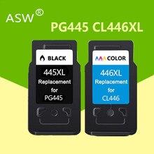 2 قطعة PG-445 CL-446 PG445 CL 446 متوافق PG445XL 445XL خرطوشة حبر لكانون PIXMA MG 2440 2540 2940 MX494 IP2840 طابعة