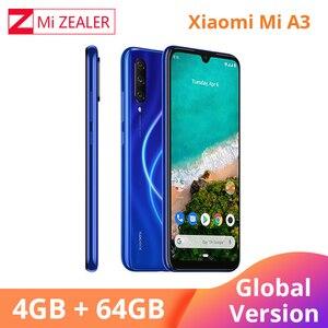"Image 2 - Global Version Xiaomi A3 Mobile Phone Mi A3 4GB 64GB Smartphone 4030mAh 6.088"" AMOLED Screen Display 48MP 32MP AI Camera"