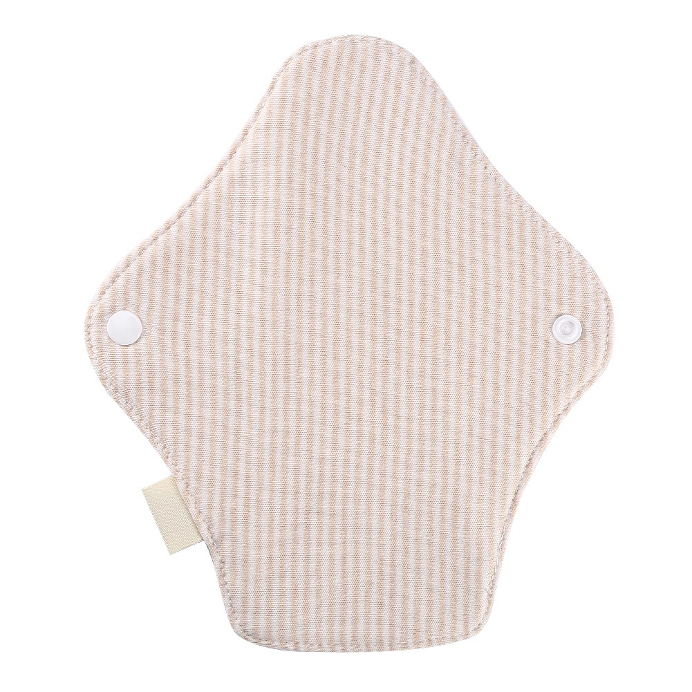 7.5 X 2.6 Inch Reusable Women Washable Feminine Sanitary Pad Napkin Breathable Serviette Hygienique Cloth Menstrual Pads