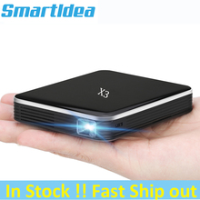 Smartldea DLP Mini Proiettore Mobile con la Batteria Ricaricabile, 200ansi HD Pocket Proyector Intelligente Del Telefono wired esposizione Sincrona