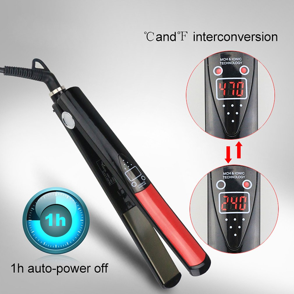 Выпрямитель для волос, светодиодный выпрямитель для волос, электрическая шина, инструмент для волос, мини-зажим для волос