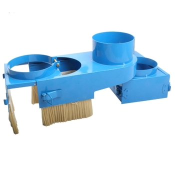 Push-Pull Practical CNC Router Engraving Machine Spindle Motor Dust Hood Cleaner Collection Nylon Brush